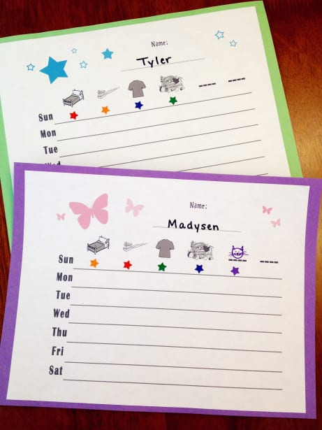 http://thiscrazymom.wordpress.com/2012/05/16/toddler-responsibility-chart-simple-and-fun-free-download/
