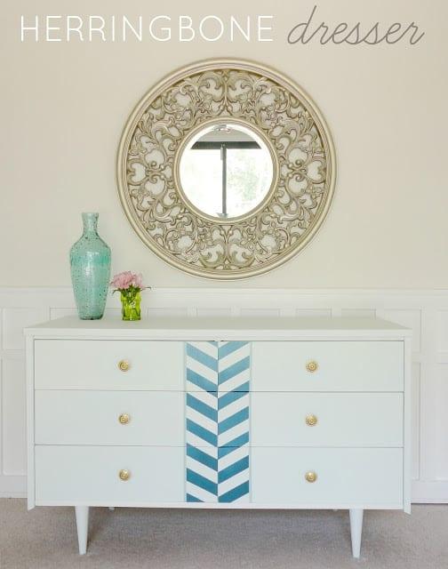 Herringbone Dresser (1)