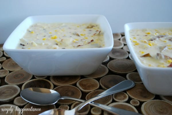Corn Chowder {Simply Happenstance}