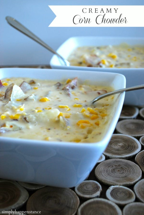 Creamy Corn Chowder Recipe — Dishmaps