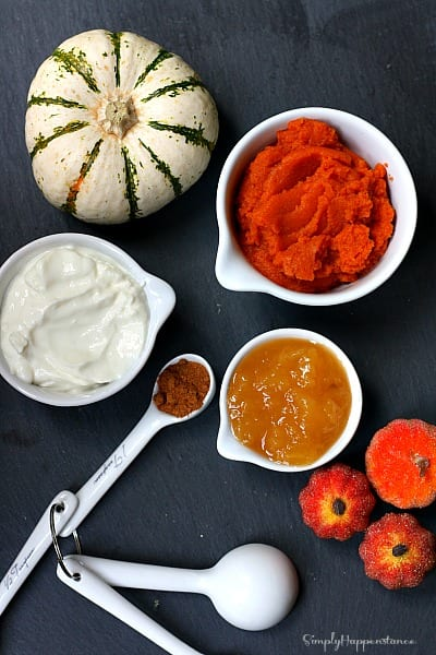 Pumpkin Applesauce Muffins2