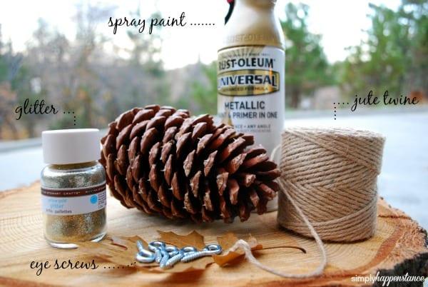 DIY Pinecone Garland - Supply List {Simply Happenstance}