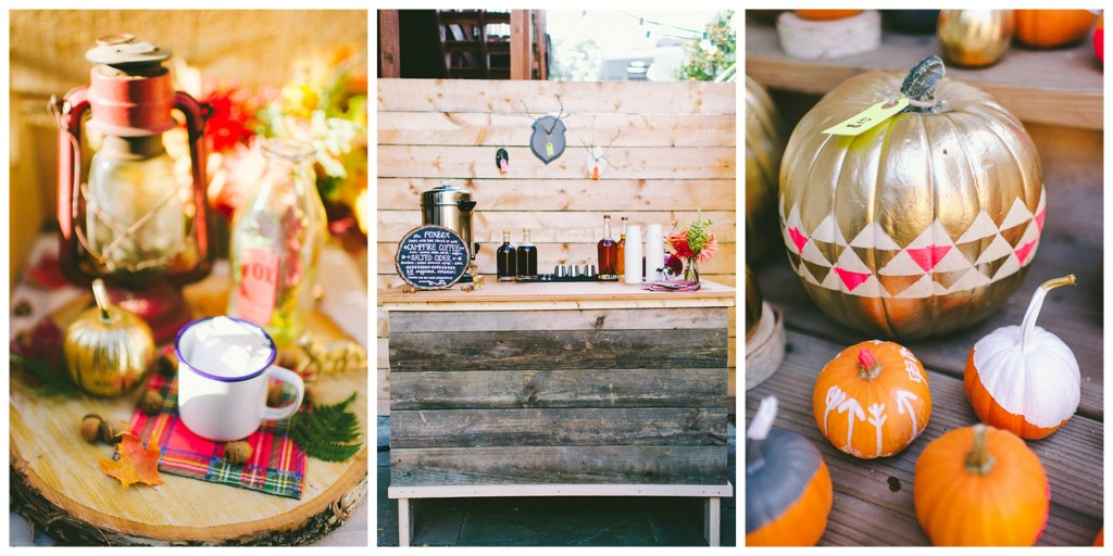 fall party inspiration from 100 layer cake
