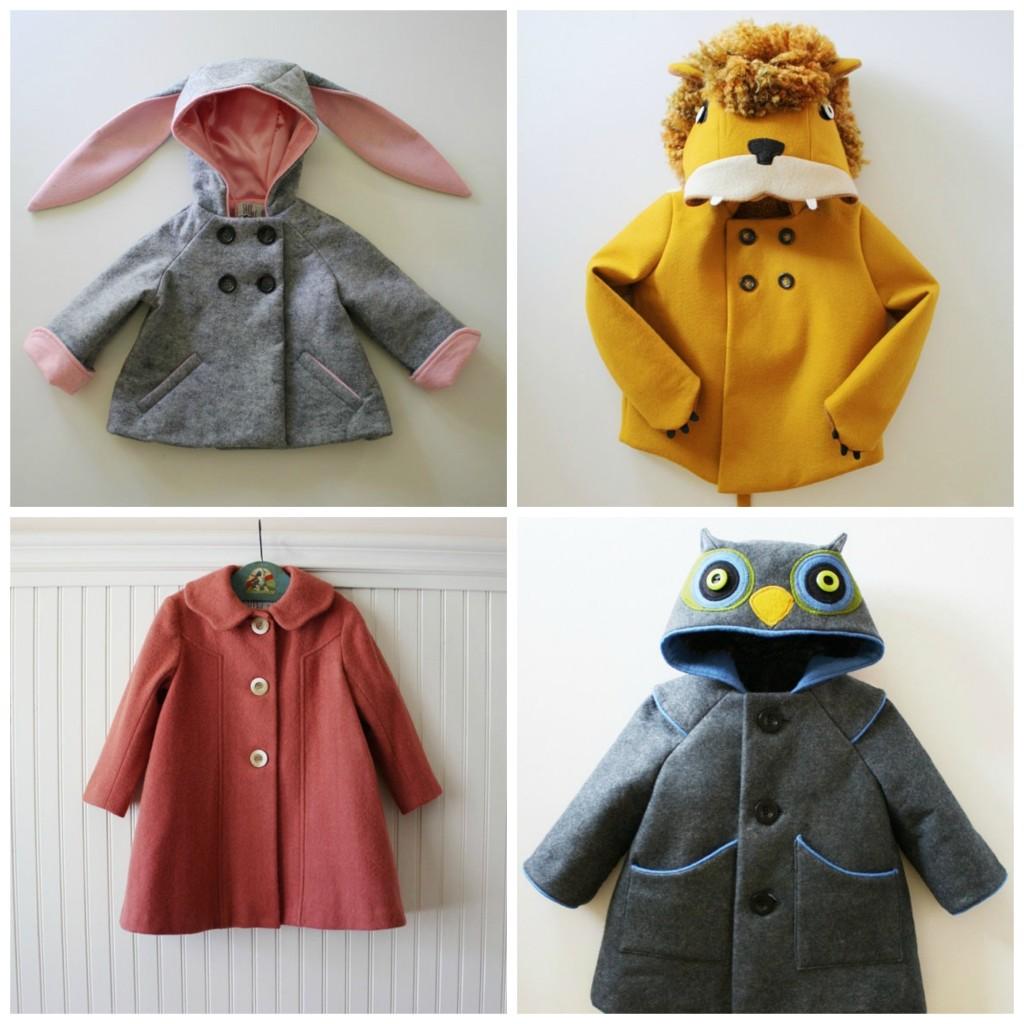 handmade coats by littlegoodall on etsy