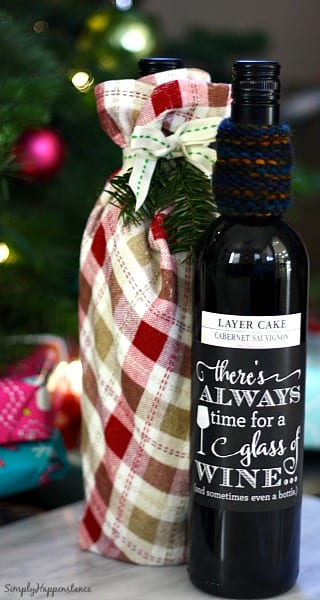 DIY Wine Hostess Gift 9