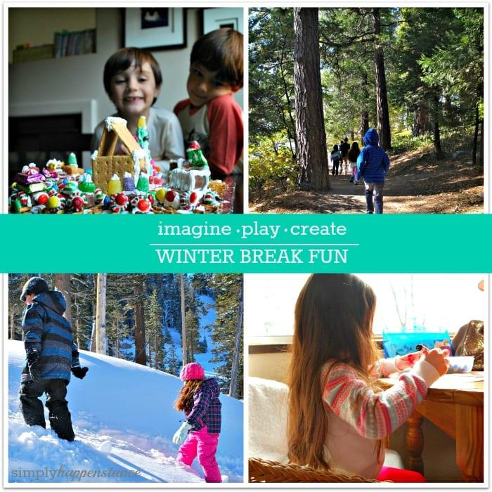 Winter Break Activity Ideas {via Simply Happenstance Blog}