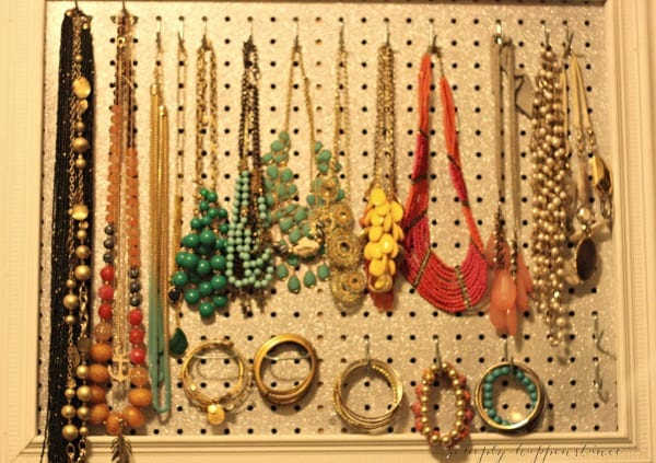 Do It Yourself Jewelry Organizer