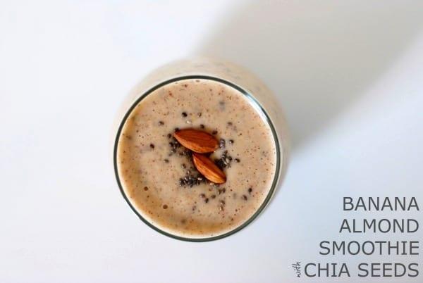 Banana Almond Smoothie with Chia Seeds {via Simply Happenstance} #smoothie #chia #almondbutter #banana.jpg.jpg.jpg