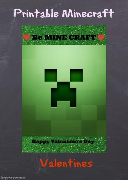 printable mind craft valentines simply happenstance