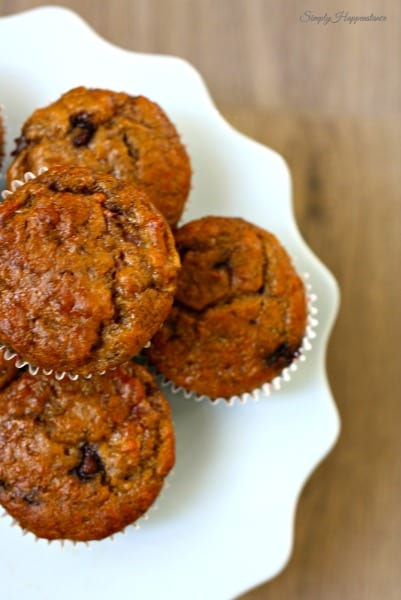 Strawberry Banana Chip Muffins