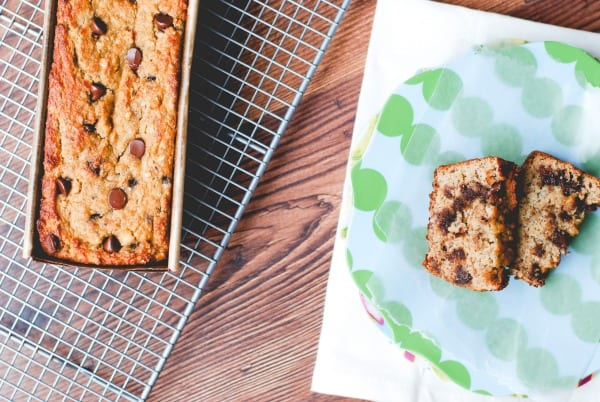 Gluten-Free Banana Chocolate Chip Loaf