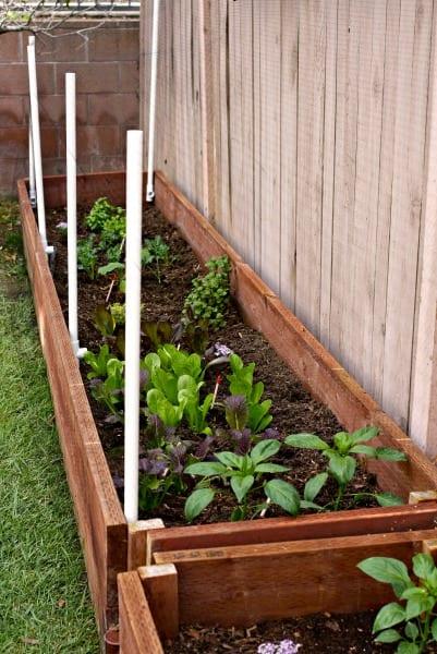 Spring Garden Boxes. Organic Garden Boxes. Easy DIY Garden Boxes