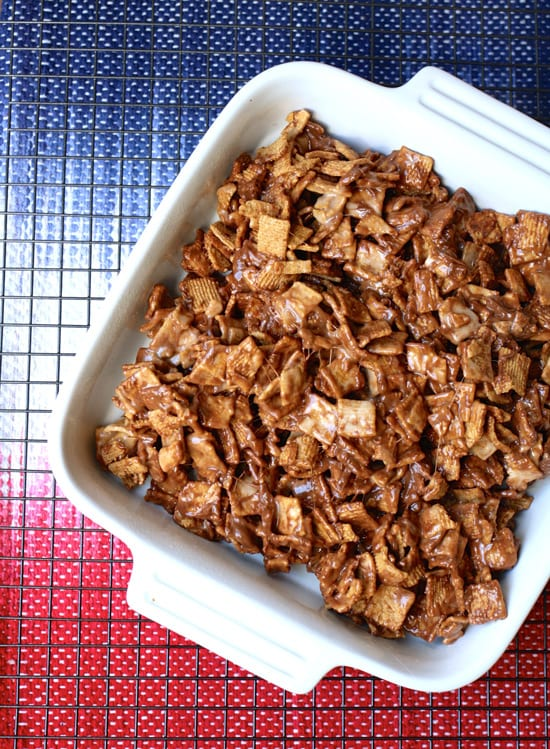 Chocolate S'mores Treat. Easy and chocolatey this recipe is a summer favorite.