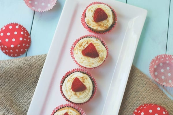 Strawberry Cheesecake Cupcakes-77