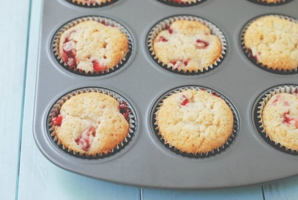 Strawberry Cheesecake Cupcakes {Simply Happenstance}-21