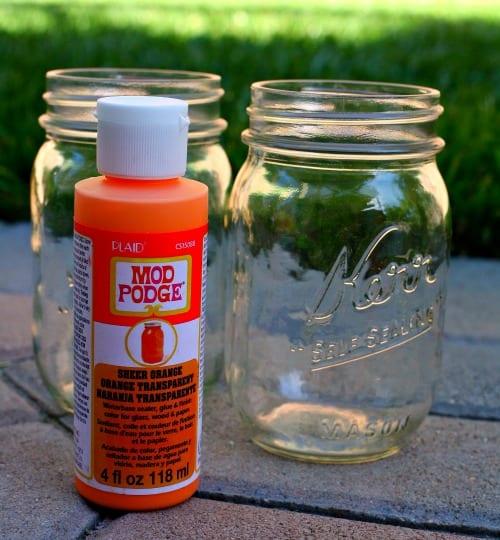 Easy mason jar succulents.