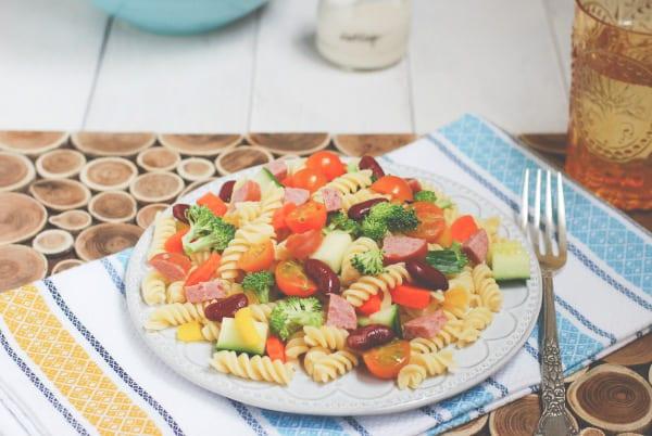 Summer Pasta Salad-3