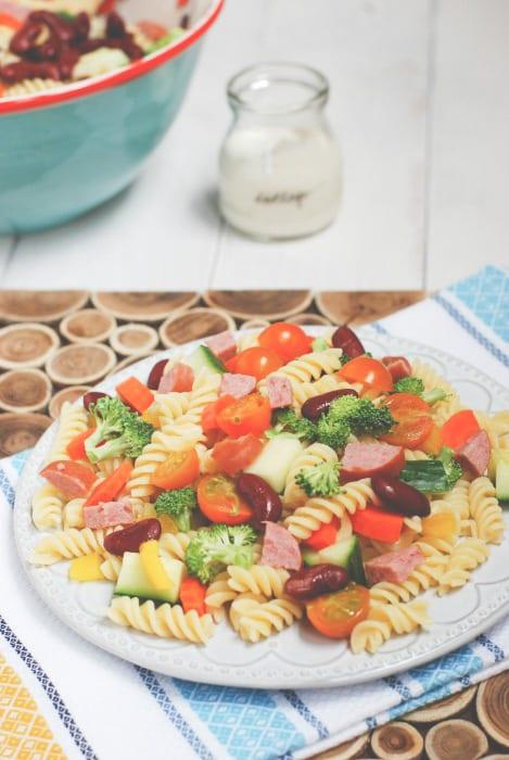 Summer Pasta Salad-4