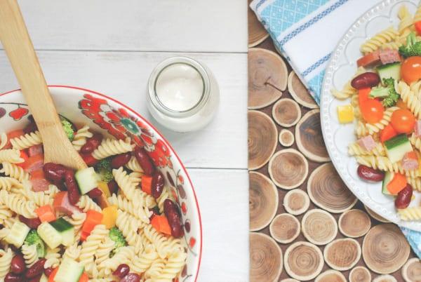 Summer Pasta Salad-5