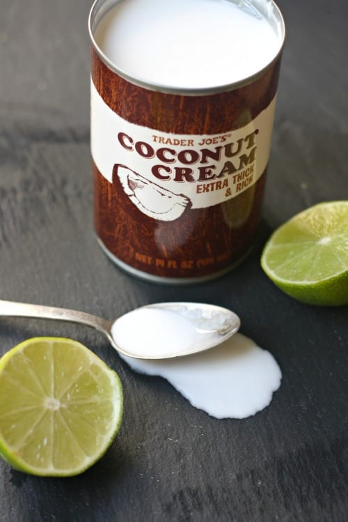 Coconut Margarita. Trader Joe's Coconut Cream