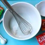 Easy to make jello scented homemade playdoh