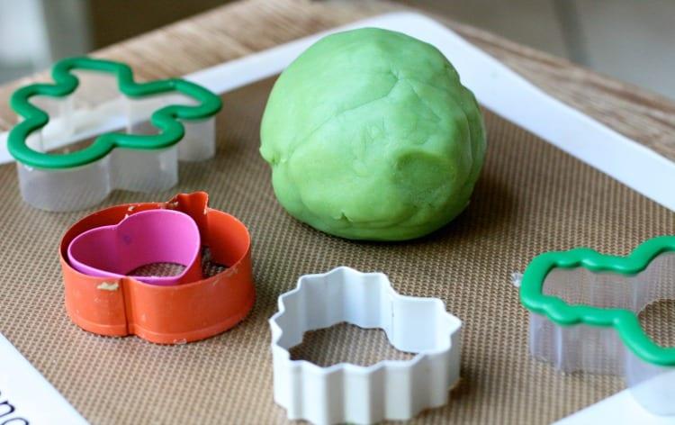 scented homemade playdoh