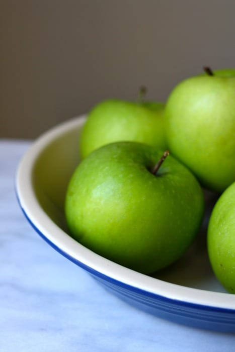 apples for Skillet Spiced Apple Crumble