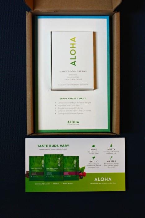 Aloha Greens Package