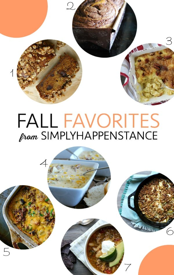 Favorite Family-Friendly Fall Recipes {simplyhappenstance.com}