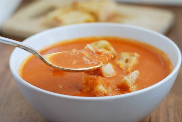 Homemade Tomato Soup w-Grilled Cheese Croutons {simplyhappenstance.com}-65