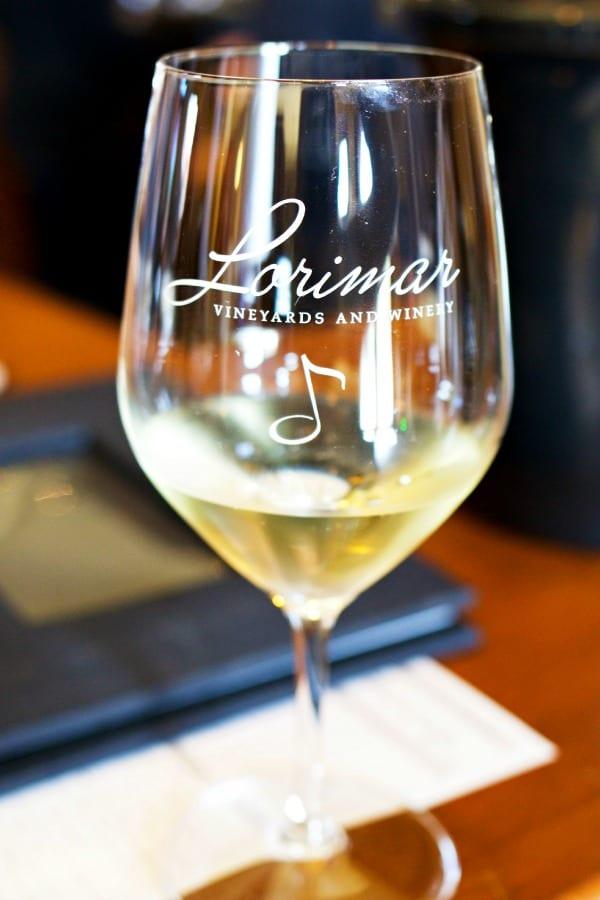 Cheers to wine. Lorimar Winery, Temecula.