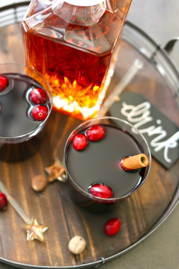 Mulled Wine Recipe using Mulling Spices from Old Town Spice and Tea Merchants in Temecula.