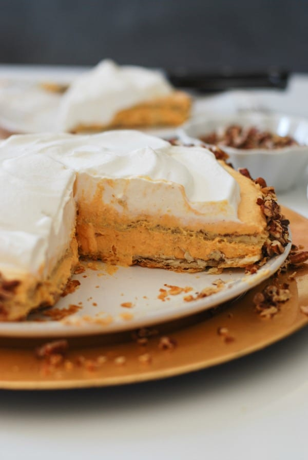 Pumpkin Ice Box Cake  Simply Happenstance Blog