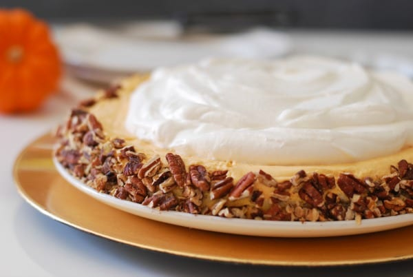 Pumpkin Ice Box Cake | Simply Happenstance