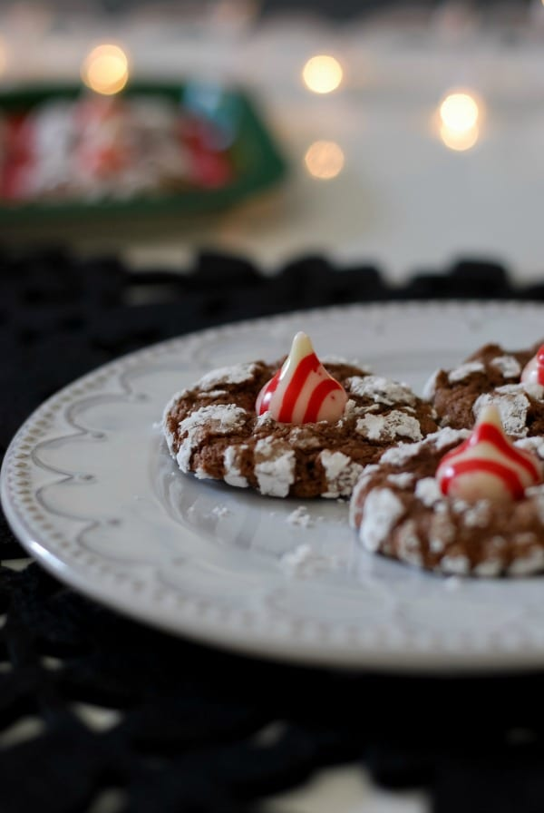 Peppermint Chocolate Crinkle Cookies  Simply Happenstance -39