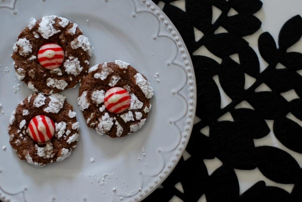 Peppermint Chocolate Crinkle Cookies  Simply Happenstance -46