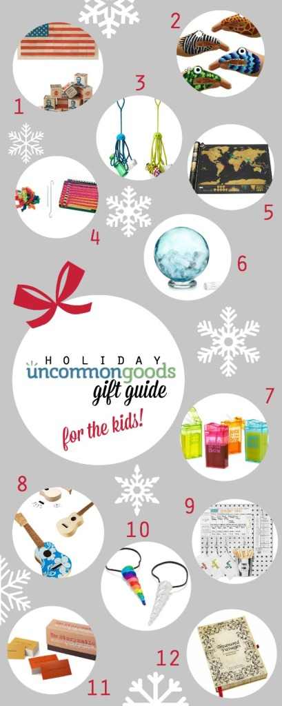 Uncommon Goods Holiday Gift Guide + Giveaway {simplyhappenstance.com}