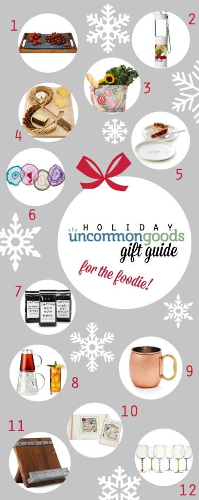 UncommonGood Holiday Gift Guide for the Foodie! {simplyhappenstance.com}