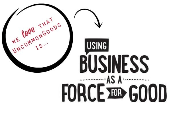 Using Business as a Force for Good | UncommonGoods {via simplyhappenstance.com}