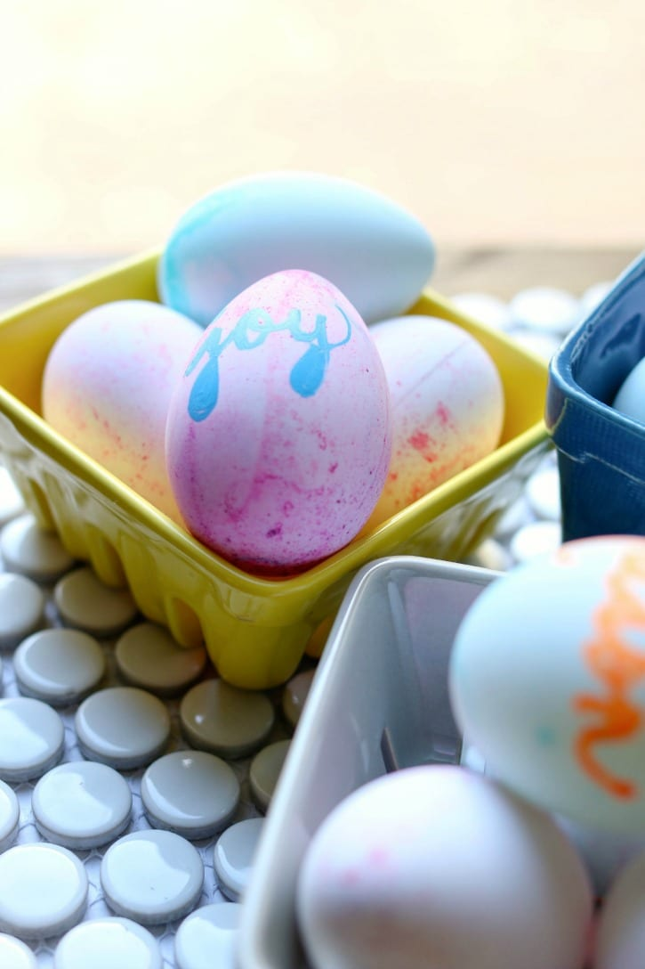 Easter is just around the corner. These Craft Easter Eggs are a simple diy