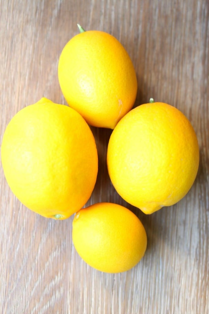 Meyer lemons perfect for Easy Cold Remedy Drink