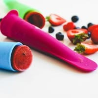 Triple Berry Smoothie Pops -19
