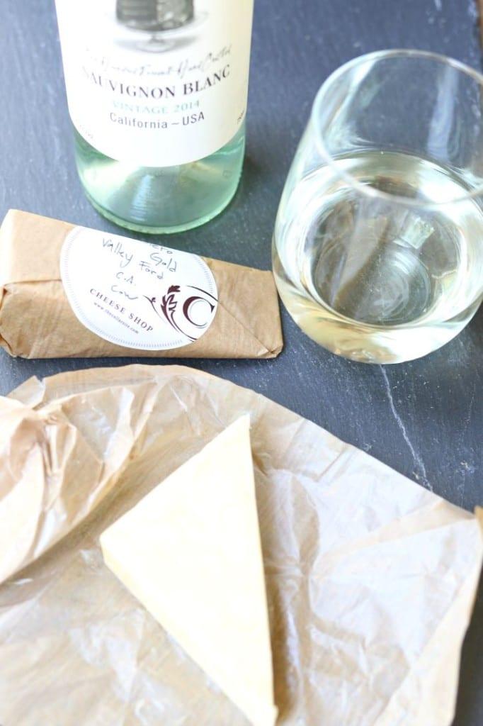 The Cellar Cheese and Layer Cake Sauvignon Blanc Wine