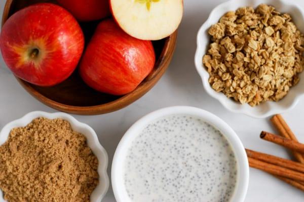Apple Pie Breakfast Bowl