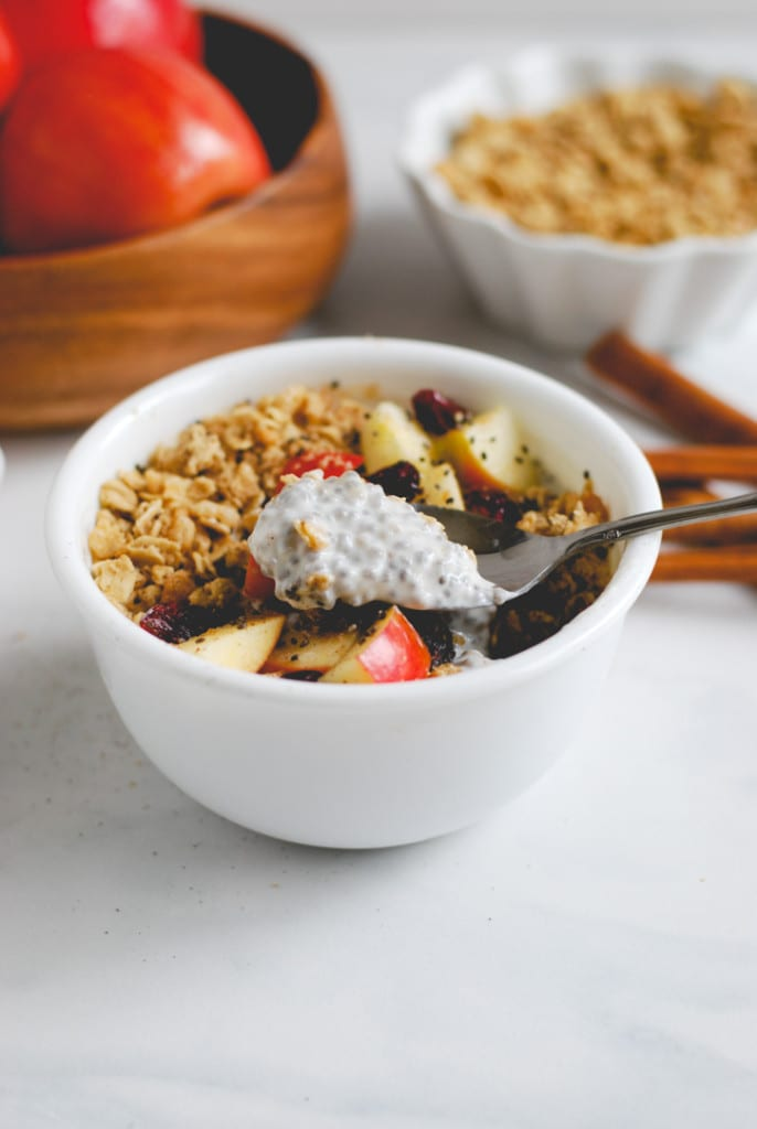 Apple Pie Breakfast Bowl (a recipe by Simply Happenstance for Simple As That Blog)!