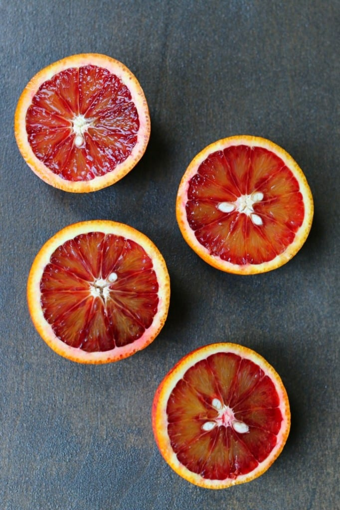 Blood Oranges perfect for Halloween drinks.