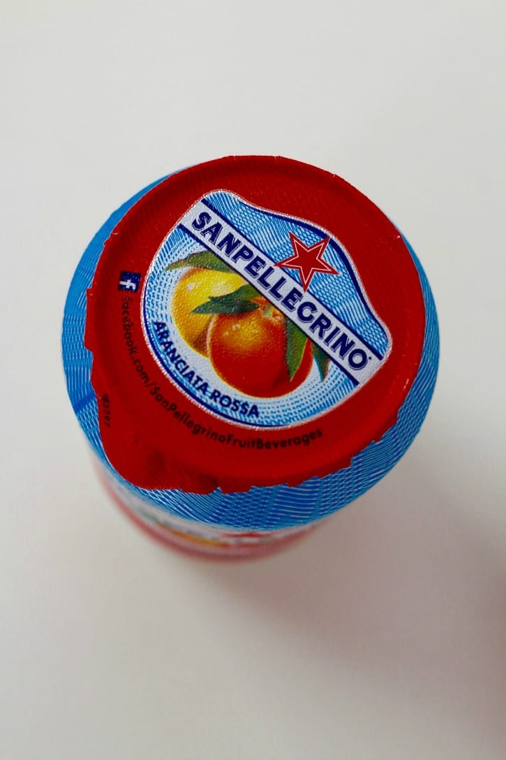 San Pellegrino for Blood Orange and Raspberry Sparklers