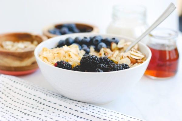 Berry Vanilla Quinoa Bowl